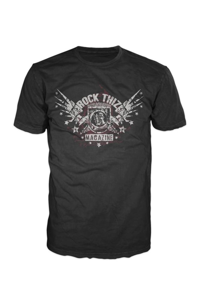 Men's Rock Thiz Magazine Promo T-Shirt