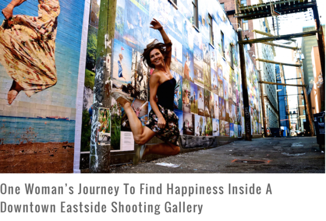 One Woman's Journey To Find Happiness Inside A Downtown Eastside Shooting Gallery - The Gazette August 7, 2014
